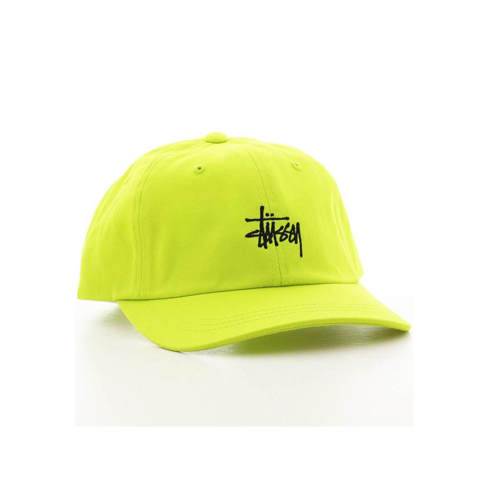 Stussy HO18 Stock Low Pro Cap Lime 232211