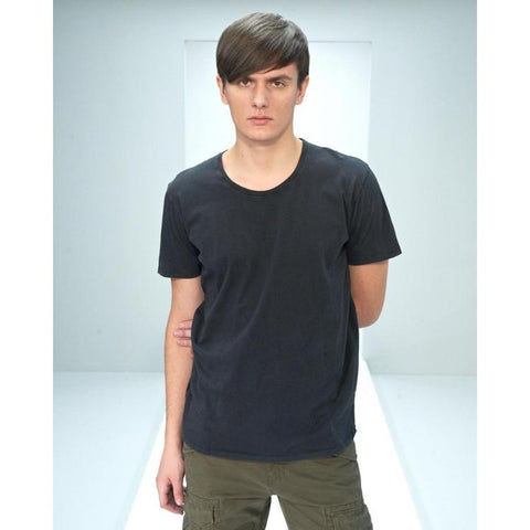 Nudie Jeans Round Neck T-Shirt NJ/T 01 Black