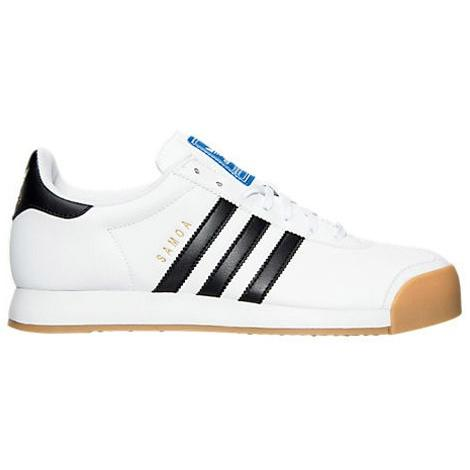ADIDAS Samoa PRF Mens Casual Shoes in White/Black/Gum
