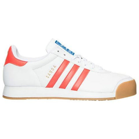 ADIDAS Samoa PRF Mens Casual Shoes in White/Solar Red/Gum