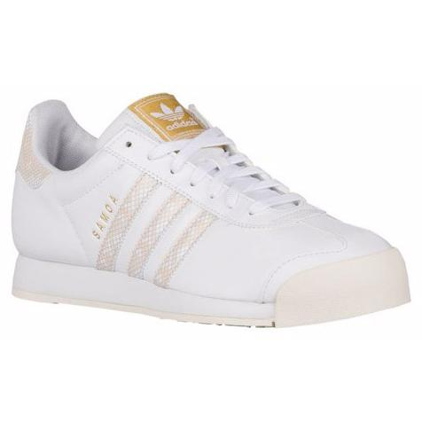 ADIDAS Women's Originals Samoa Casual Shoes in White/Chalk