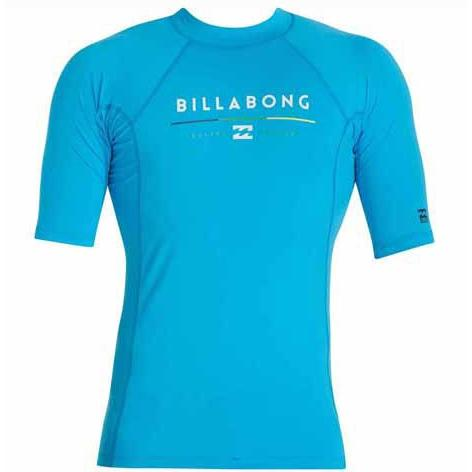 BILLABONG All Day Short Sleeve Rashguard NewBlue MWLYEALS