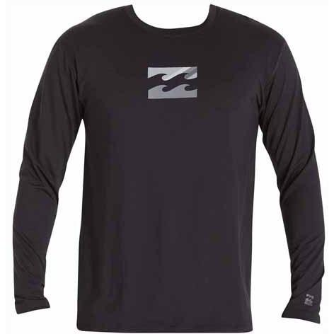 BILLABONG Chronicle Long Sleeve Surf Tee Black MWLYECHL