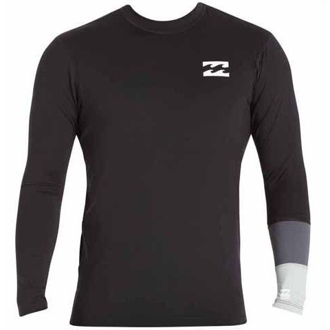 BILLABONG Tribong Long Sleeve Surf Tee Black MWLYETBL