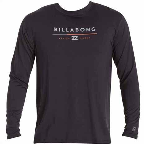 BILLABONG Tri Unity Long Sleeve Rashguard Black MWLYETUL