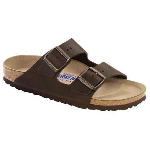 BIRKENSTOCK Mens Arizona SFB Habana Oiled Leather in Habana