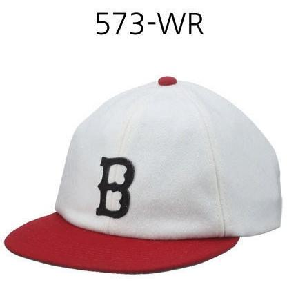 BRIXTON Wagner Snapback Off White/Red 573