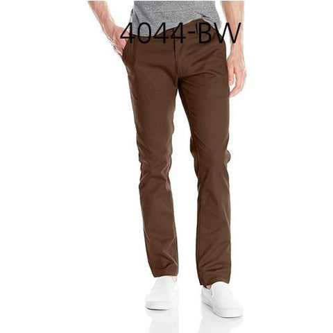 BRIXTON Reserve Standard Fit Chino Pant Brown 4044