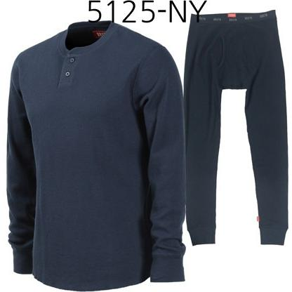 BRIXTON Fargo Long Underwear Set Navy 5125