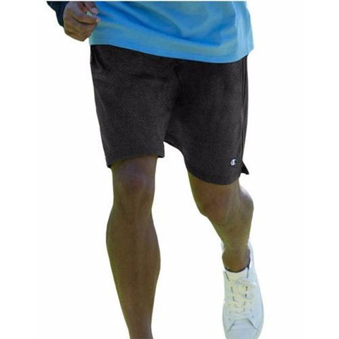 Champion Long Mesh Men'S Shorts With Pockets Black 81622