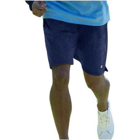 Champion Long Mesh Men'S Shorts With Pockets Navy 81622