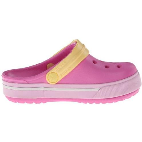 Crocs Kids Crocband II.5 Clog in PTPK/Bright Pink