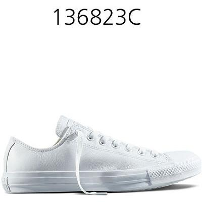 CONVERSE Chuck Taylor All Star Leather Low Top White 136823C