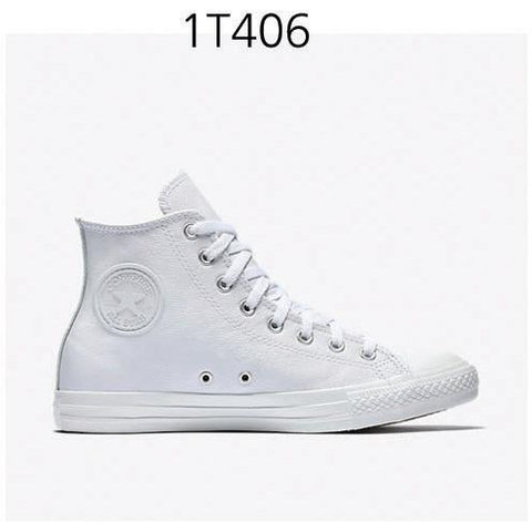 CONVERSE Chuck Taylor All Star Leather High Top White 1T406