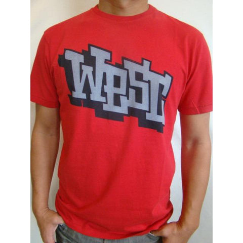 WESC comic S/S t-shirt RED