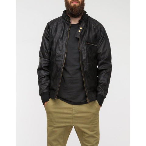 Zanerobe Men's Clubman Leather Jacket