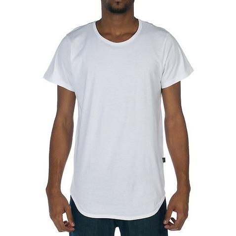 EPTM EP5060-WHITE REGULAR E-LONG TEE