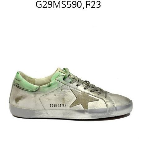 GOLDEN GOOSE Super Star Sneakers Silverspotted G29MS590.F23