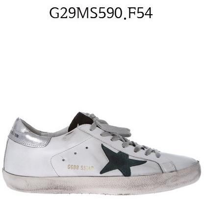 GOLDEN GOOSE Super Star Sneakers White/petroleumstar G29MS590.F54