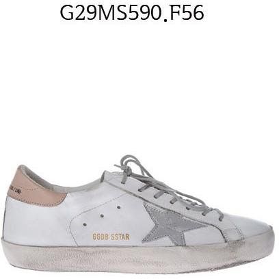 GOLDEN GOOSE Super Star Sneakers WhiteLeather/camel G29MS590.F56