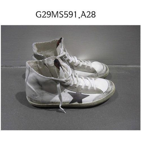 GOLDEN GOOSE Francy Sneakers Whitesilver/ma G29MS591.A28