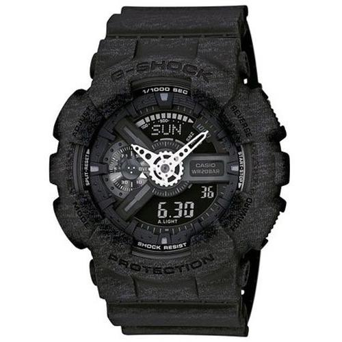G SHOCK CASIO_GA-110 Heather Black  in Black