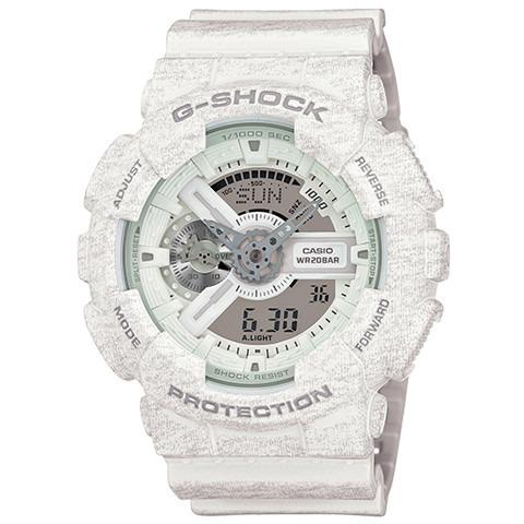 G-SHOCK CASIO_GA-110HT-7A Heather White in White