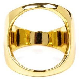 Han Cholo Open Space Ring From Shadow Series HCR08 Gold