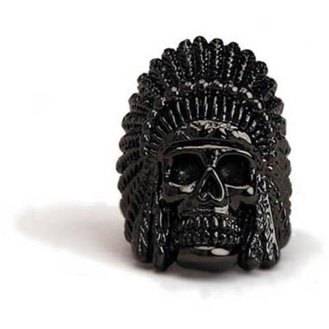 Han Cholo Indian Chief  Ring From Shadow Series HCR60 Gun Metal