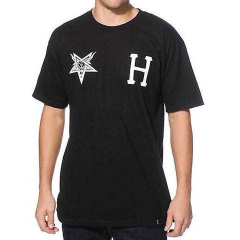 HUF HUF X THRASHER TEAM TEE BLACK