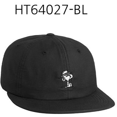 HUF Spike 6 Panel Black HT64027