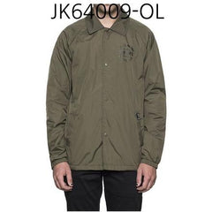 HUF Bundy Coachs Jacket Olive JK64009