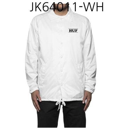 HUF Pigpen Coachs Jacket White JK64011