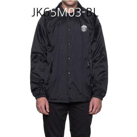 HUF Thrasher TDS Coachs Jacket Black JK65M03