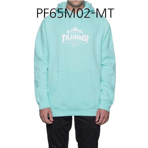 HUF Thrasher Tour De Stoops Hood Mint PF65M02