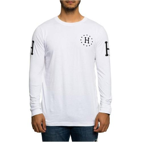 HUF The Audible Long Sleeve Tee White TS61047