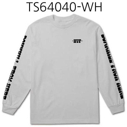 HUF Spike Downhill Long Sleeve Tee White TS64040