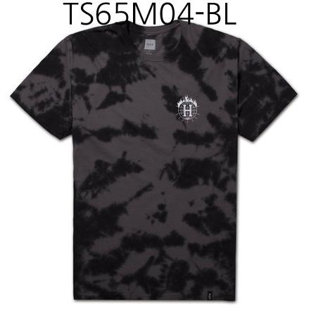 HUF Thrasher TDS Crystal Wash Tee Black TS65M04