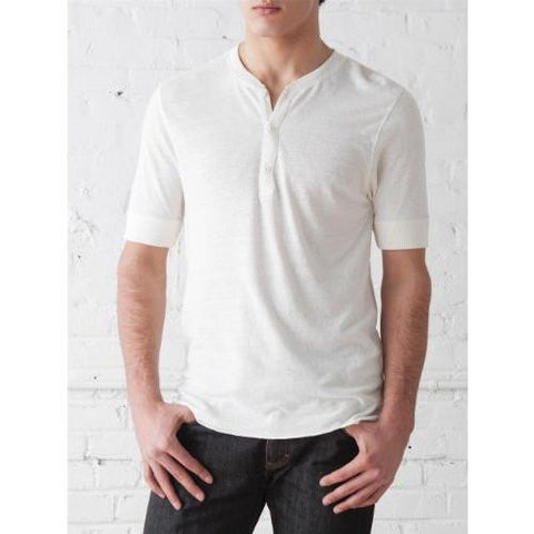 Alternative SHORT-SLEEVE HENLEY Antique