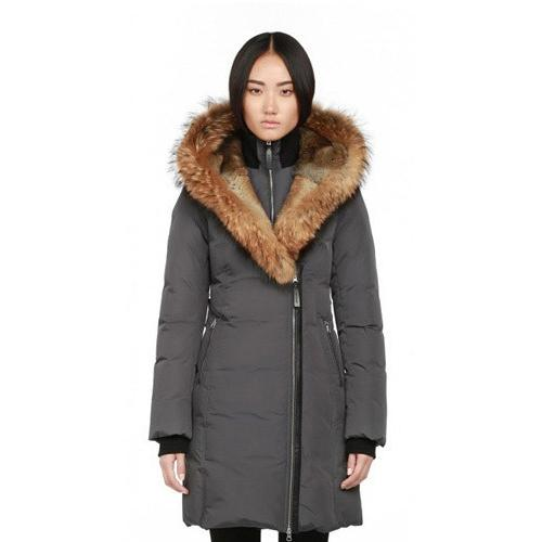 Mackage Ladies Down Coat TRISH-F5  Charcoal