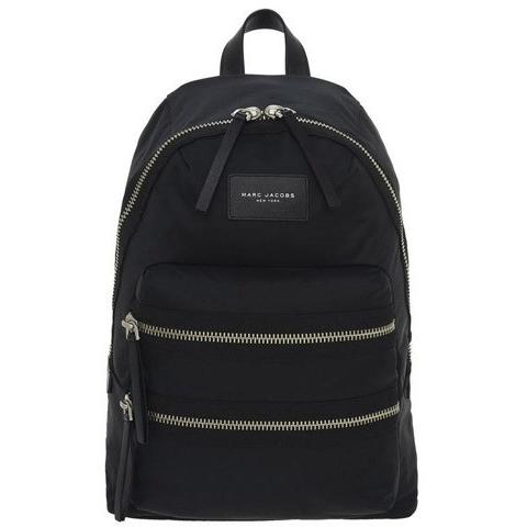Marc Jacobs Nylon Biker Backpack BLACK M0008296