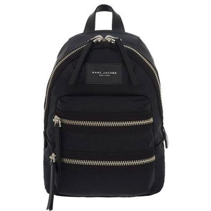 Marc Jacobs Nylon Biker Mini Backpack BLACK M0008298