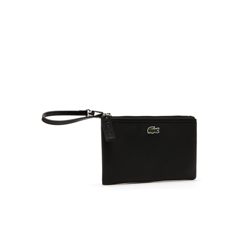 Lacoste Women's  L.12.12 Concept Zip Clutch Bag Black  NF2036PO-000