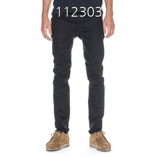 NUDIE JEANS Thin Finn Dry ColdDry Cold Black 112303