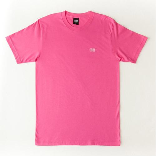 OBEY New Times Knit Tee HotPink 131080165