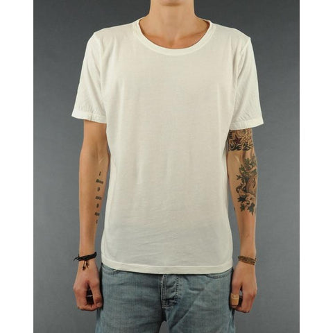 Nudie Jeans Wide Neck T-Shirt NJ/T 02 Offwhite