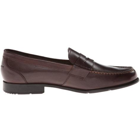 ROCKPORT Mens Classic Lite Penny Loafer in Coach Brown