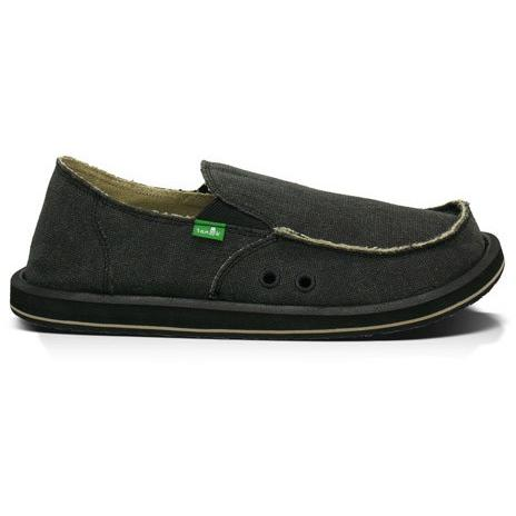 SANUK MENS VAGABOND in Charcoal