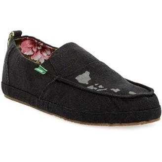 SANUK MENS COMMODORE HAWAII in Black