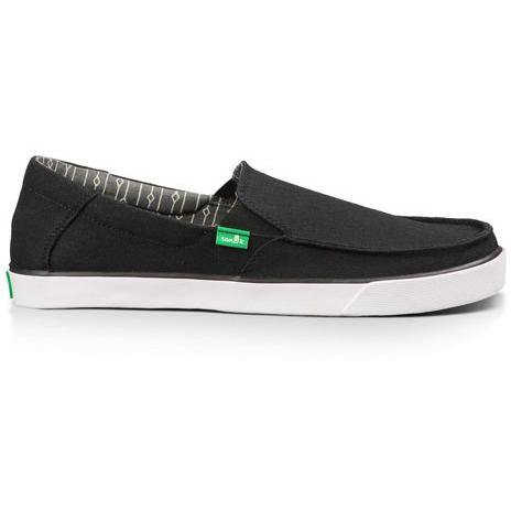 SANUK Mens SIDELINE in Black